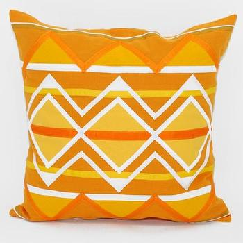 Pillows - decorative pillow - yellow pillow