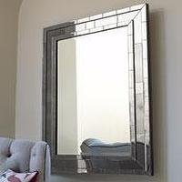 Mirrors - The Horchow Collection-Decor &amp; Antiques - Mirrors - Mirrors - beveled, mirror