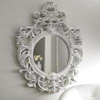 Mirrors - The Horchow Collection-Decor &amp; Antiques - Mirrors - Mirrors - lily, baroque, mirror