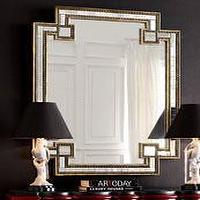 Mirrors - The Horchow Collection-Decor &amp; Antiques - Mirrors - Mirrors - mosaic, mirror