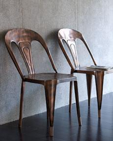 Seating - The Horchow Collection - Furniture - Accent Furniture Under $600 - metal, cafe, chair
