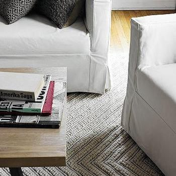 Chevron Knot Rug, west elm