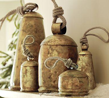 Decor/Accessories - Decorative Bells | Pottery Barn - decorative, bells