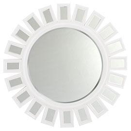 Devon Mirror, White, Mirrors, Z Gallerie