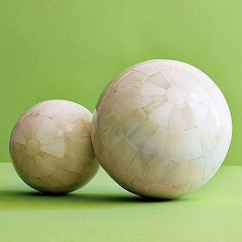 Decor/Accessories - Bone Orbs | west elm - bone, orbs