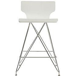Rae White Bar Stools (Set of 2), Overstock.com