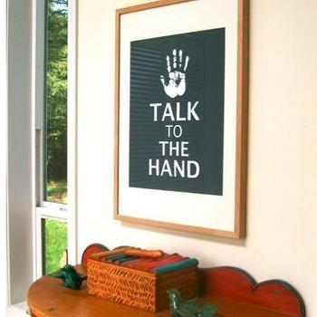 Art/Wall Decor - Talk To The Hand 16 x 20 inch poster by TheQueenOfQuiteALot - art