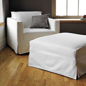 Seating - Cooper Slipcovered Ottoman | west elm - slipcovered, ottoman