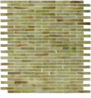 Tiles - STIX Glass Tile Collection - green backsplash