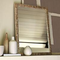 Mirrors - Tiled Capiz Wall Mirror | west elm - tiled, capiz, mirror