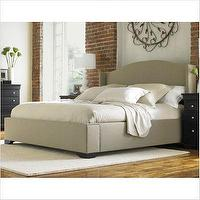 Beds/Headboards - Stanley Louis Louis Elliot's Wing Man Bed - wingback, headboard, bed