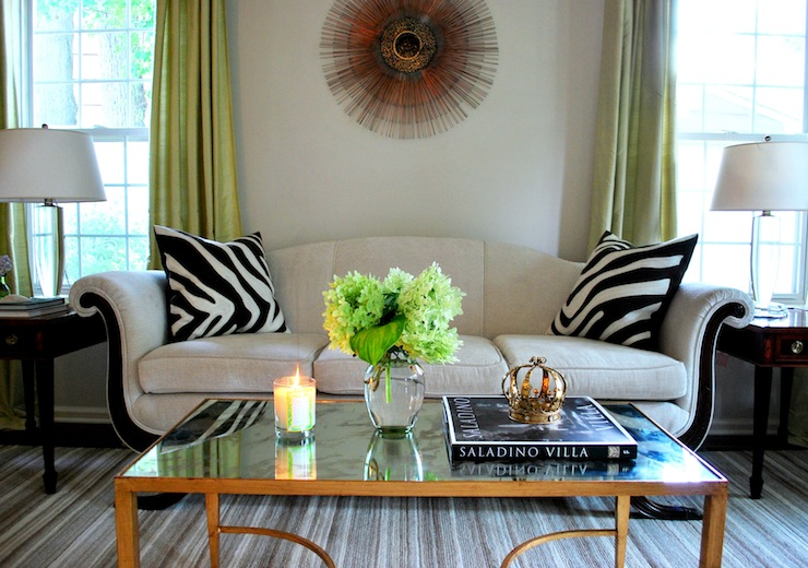 Brass Coffee Table French Living Room Benjamin Moore