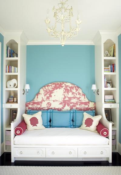 Daybed With Headboard Contemporary Girl S Room