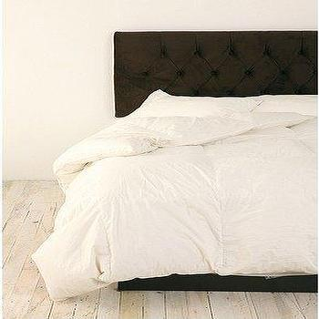 Bedding - UrbanOutfitters.com > Modern Tufted Velvet Headboard - tufted, headboard
