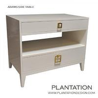 Storage Furniture - Plantation Design -- Furnishings - side table nightstand