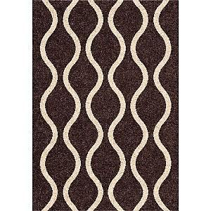Rugs - Dynamic Funky Dark Chocolate Rug - 2'7 - rug