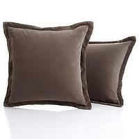 Pillows - Nate Berkusâ?¢ Pair of Velvet Decorative Pillows at HSN.com - velvet, pillows
