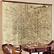 Art/Wall Decor - Wall Art - Frontgate - french, giclee, map