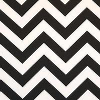 Fabrics - Premier Prints, Inc. Zig Zag Black - chevron pattern fabric