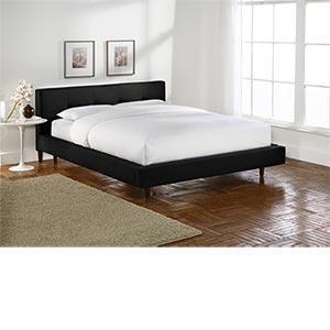Costco, Black Platform Queen Bed