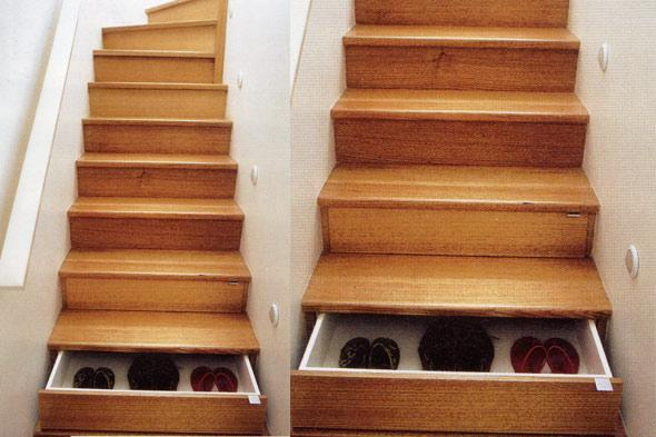Miscellaneous - Drool-Worthy Staircases - Shelterpop - staircase drawers