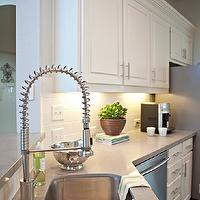 Studio Ten 25 - kitchens - modern kitchen, subway tile backsplash, caesar stone countertop, kitchen island, kitchen faucet stainless,  Modern