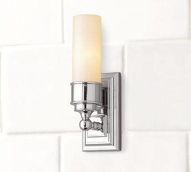Sussex Tube Sconce Pottery Barn