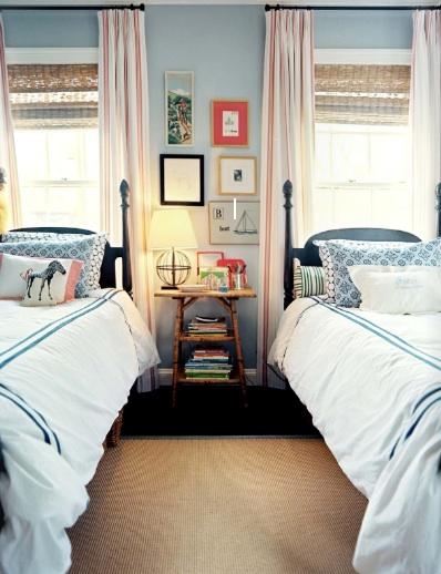 Shared Kids Bedroom Cottage Boy S Room Lonny Magazine