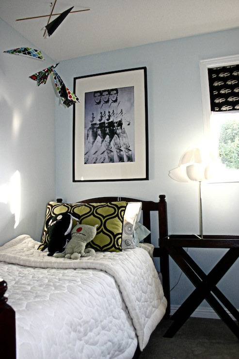 Boys Room Paint Colors Traditional Boy S Room Behr Spring Blue