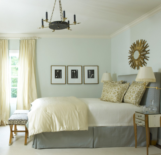 yellow and gray bedroom traditional bedroom jan showers