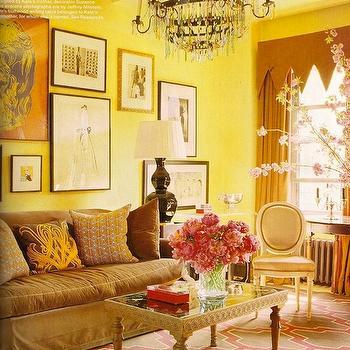Moroccan Lattice Rug Contemporary Living Room