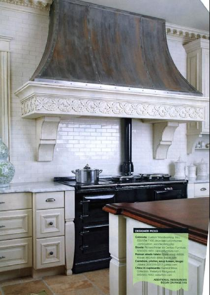 Kitchens zinc home decoration club for Kitchen zinc design