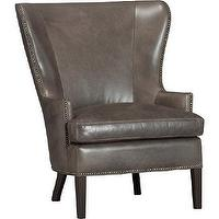 Seating - Dylan Leather Chair | Crate&Barrel - leather, chair