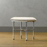 Bath - Meridien Bath Stool | Storage & Furniture | Restoration Hardware - faux bamboo, stool