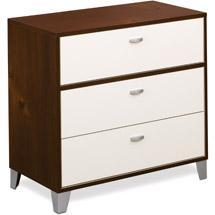 Storage Furniture - Walmart.com: Topolino 3 Drawer Chest, Espresso & Ivory: Kids' & Teen Rooms - 3 drawer, chest