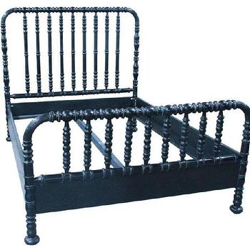 Noir Black Bed