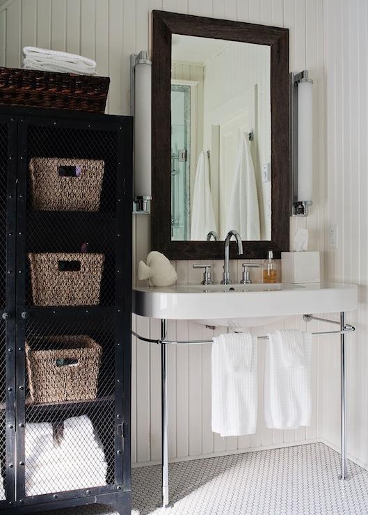 Beadboard Bathroom Cottage Bathroom Jennifer Worts Design
