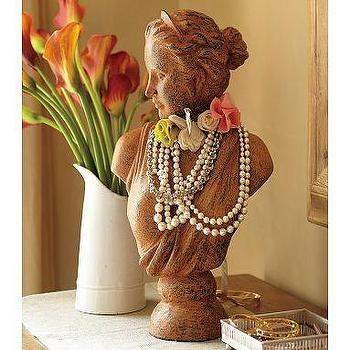 Decor/Accessories - Decorative Bust | Pottery Barn - jewelry, bust