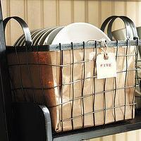Decor/Accessories - Wire Basket with Handles | Pottery Barn - wire, baskets, handles