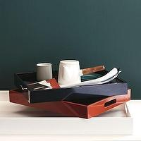 Decor/Accessories - Wood Trays | west elm - wood, trays