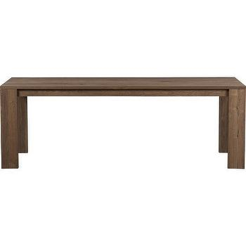 Tables - Rohe Dining Table | Crate&Barrel - rohe, dining table