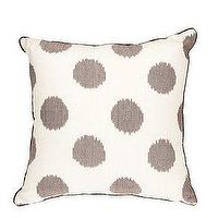 Pillows - UrbanOutfitters.com > Large Ikat Dots Pillow - silver, ikat, pillow
