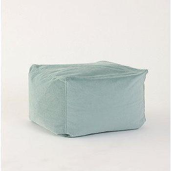 Seating - UrbanOutfitters.com > Velvet Pouf - velvet, pouf