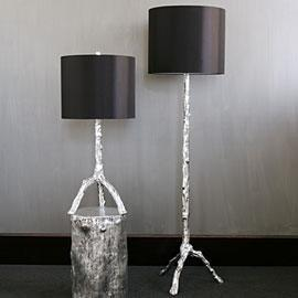 Lighting - Twig Lamp Collection - Silver | Z Gallerie - twig, lamps