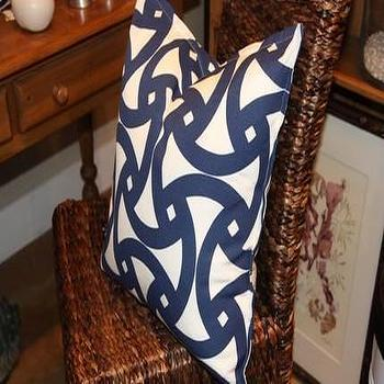 Pillows - Trina Turk Indoor/Outdoor 20 inch Pillow by cerihoover on Etsy - truna turk, blue, pillow