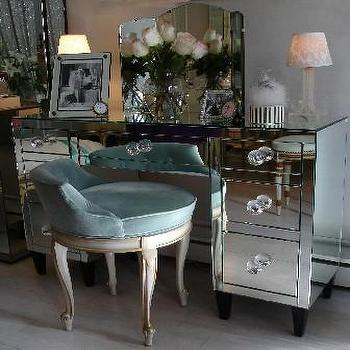 Storage Furniture - The Paris Apartment | Boutique - mirrored, vanity