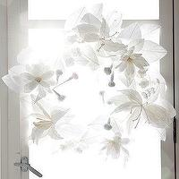 Miscellaneous - Paper Flower Wreath | west elm - paper, flower, wreath