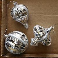Miscellaneous - Mercury Shape Ornaments | west elm - mercury, ornaments
