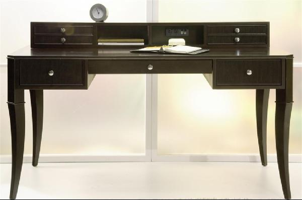Storage Furniture - Mureno Writing Desk in Espresso Finish - desk