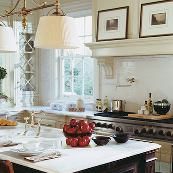 KItchen Pass Through, Traditional, kitchen, Peacock Cabinetry